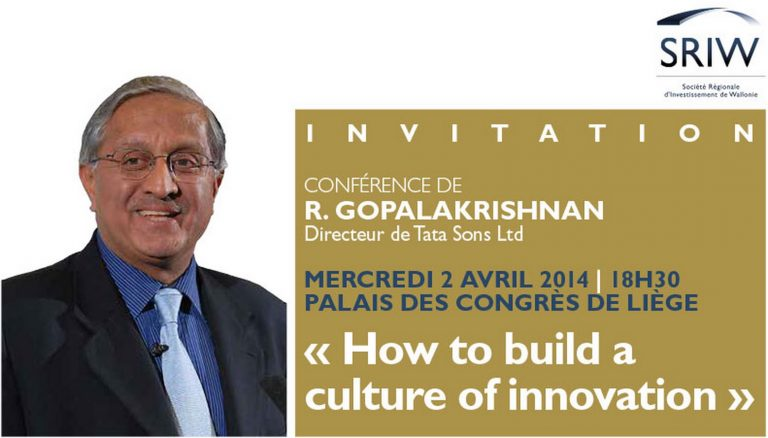 R. Gopalakrishnan, CEO of Tata Sons Ltd.