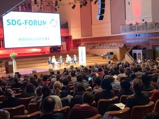 SDG Forum à Bruxelles