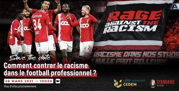 Tolken – Conferentie over racisme in het profvoetbal